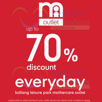Read more about mothercare New Outlet Store Now Open 8 May 2015