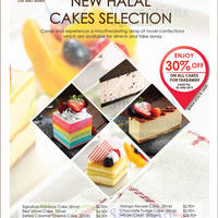 Read more about 1 Market By Chef Wan 30% Off All Cakes Promo 17 - 30 Jun 2015