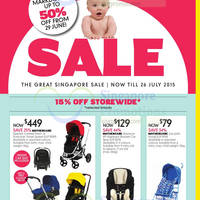 Read more about Mothercare Up To 50% Off Further Markdowns Sale 30 Jun - 26 Jul 2015