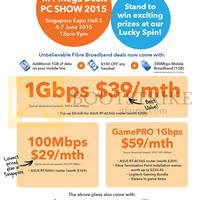 Read more about M1 PC SHOW 2015 Home Broadband, Mobile & Other Offers 4 - 7 Jun 2015