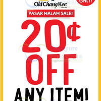 Read more about Old Chang Kee 20 Cents Off Everything @ Selected Outlets 20 Jun - 16 Jul 2015