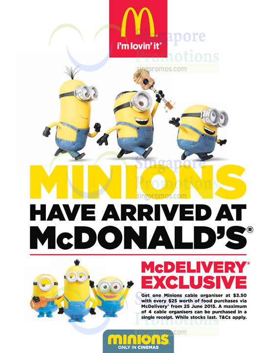 30 Jun Minions McDelivery