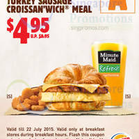 Read more about Burger King Dine-in Discount Coupons 10 Jun - 22 Jul 2015