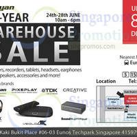 Read more about AC Ryan, Creative, TDK & Imation Warehouse Sale 24 - 28 Jun 2015