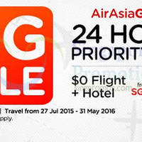 Read more about Air Asia Go Book a Hotel & Get $0 Flight 21 - 28 Jun 2015