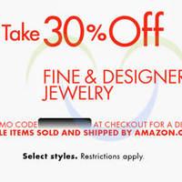 Read more about Amazon.com 30% OFF Fine & Designer Jewellery (NO Min Spend) Coupon Code 18 - 27 Jun 2015