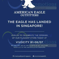 Read more about American Eagle Outfitters 10% OFF For Citibank Cardmembers 19 Jun - 12 Jul 2015