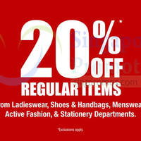 Read more about BHG 20% Off Promotion 12 - 28 Jun 2015