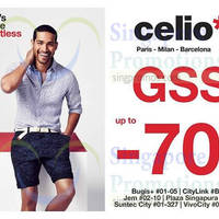 Read more about Celio Up to 70% Off Great Singapore Sale 22 Jun 2015