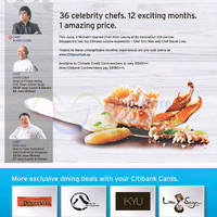 Read more about Dolce Vita, Hachi, IKYU, Little Saigon Offers For Citibank Cardmembers 7 - 30 Jun 2015