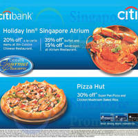 Read more about Citibank Pizza Hut & Holiday Inn Dining Offers 21 Jun 2015