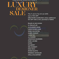 Read more about Club 21 Luxury Designer Sale 11 - 23 Jun 2015
