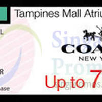 Read more about Coach Up To 70% Off Promo Event @ Tampines Mall 10 - 16 Jun 2015
