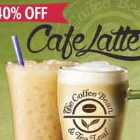 Read more about Coffee Bean & Tea Leaf 40% Off Cafe Latte Deal 1 Jun 2015