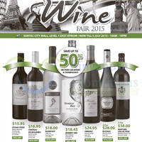 Read more about Cold Storage International Wine Fair @ Suntec City Mall 29 Jun - 5 Jul 2015