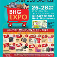 Read more about BHG Expo @ Singapore Expo 25 - 28 Jun 2015