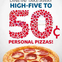 Read more about Domino's Pizza 50 Cents Personal Pizzas For SAF Personnel 1 Jul 2015