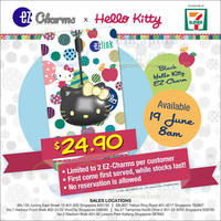 Read more about EZ-Link NEW Black Hello Kitty EZ-Charms (w/ ez-link Function) Available From 19 Jun 2015