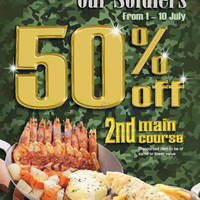 Read more about Fish & Co 50% Off 2nd Main Course for SAF Personnel (Weekdays) 1 - 10 Jul 2015
