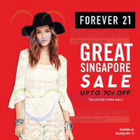 Read more about Forever 21 Great Singapore Sale 22 Jun 2015