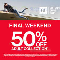 Read more about Gap 50% Off Adult Sale Collection 48hr Promo 20 - 21 Jun 2015