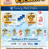 Read more about Giant Free $10 Voucher With Dove, Rexona, Sunsilk & More Products Purchase 27 Jun - 9 Jul 2015
