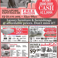 Read more about Glamorous Living & Design @ Singapore Expo 13 - 21 Jun 2015