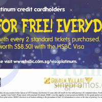 Read more about Golden Village Kids Watch For FREE & Free Popcorn Set For HSBC Visa Platinum Cardmembers 16 Jun - 30 Sep 2015
