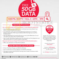 Read more about Singtel PC SHOW 2015 Broadband, Mobile & TV Offers 4 - 7 Jun 2015