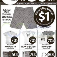 Read more about Hush Puppies Stock Clearance Sale @ Jurong Point 19 Jun 2015