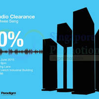 Read more about Hwee Seng Audio Warehouse Sale 26 - 28 Jun 2015