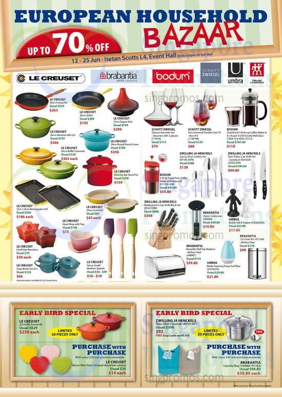 Isetan European Household Bazaar 9 Jun 2015