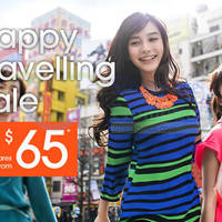 Read more about Jetstar fr $65 Happy Travelling Fares Sale 5 - 11 Jun 2015