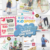 Read more about Kidstyle Kidsport Opening Specials @ Paragon 27 Jun - 31 Jul 2015
