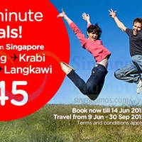 Read more about Air Asia fr $45 Promo Fares 8 - 14 Jun 2015