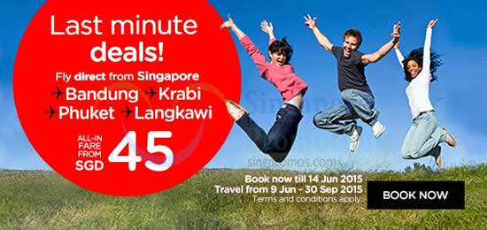 Last Minute Deals From SGD45