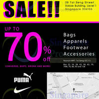 Read more about Link THM Nike, Puma, Adidas & More Sale @ Tai Seng 25 Jun - 6 Jul 2015