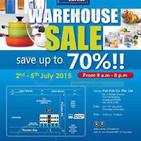 Read more about Lock & Lock Warehouse Sale 2 - 5 Jul 2015