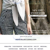 Read more about MDS Collections 16% OFF Storewide 1-Day Promo 6 Jun 2015
