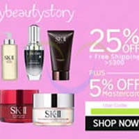 My Beauty Story 30% OFF SK-II, Clarins & More (NO Min Spend) 1-Day Coupon Code 30 Jun 2015