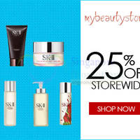 Read more about My Beauty Story 25% OFF SK-II, Clarins & More (NO Min Spend) Coupon Code 26 - 29 Jun 2015