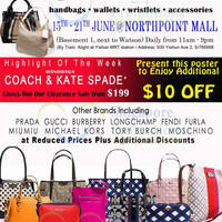 Read more about MyBagEmpire Branded Handbags & Accessories Sale @ Northpoint 15 - 21 Jun 2015