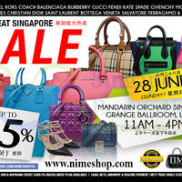 Read more about Nimeshop Branded Handbags Sale @ Mandarin Orchard 28 Jun 2015