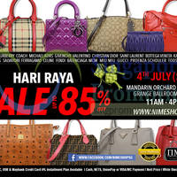Nimeshop Branded Handbags Sale @ Mandarin Orchard 4 Jul 2015