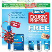 Read more about Oral-B Spend $69 & Get Free $20 Taka Voucher @ Cold Storage 13 - 18 Jun 2015