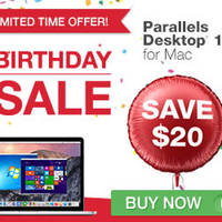 Read more about Parallels $20 Off Desktop 10 for Mac Software Promo 17 - 24 Jun 2015