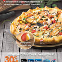 Read more about Pizza Hut 30% Off Selected Items For Citibank Cardmembers 13 Jun - 7 Jul 2015