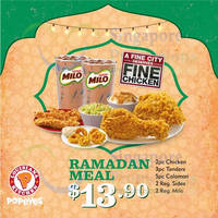 Read more about Popeyes New $13.90 Ramadan Combo Meal 17 Jun - 16 Jul 2015