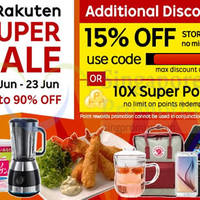 Read more about Rakuten Singapore 15% OFF (NO Min Spend) 1-Day Coupon Code 17 Jun 2015