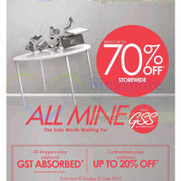 Read more about Robinsons Up to 70% Off Storewide Promotion 18 - 21 Jun 2015
